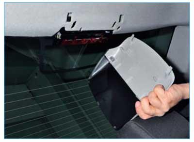 Замена стоп сигнала форд фокус 2 седан
