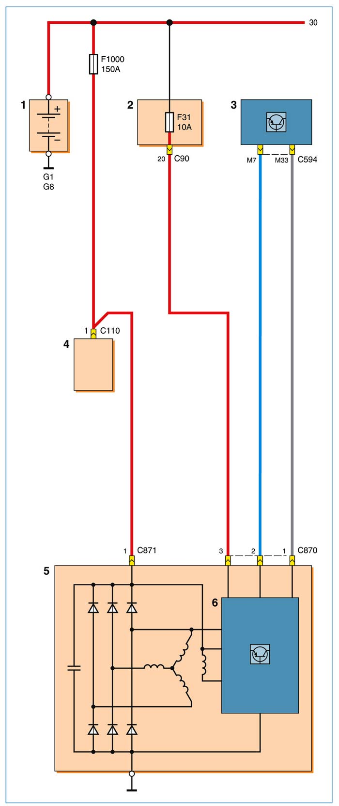 схема. монтажный портал