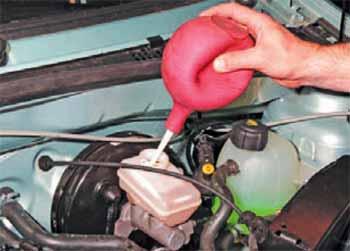 Замена жидкости гур рено логан